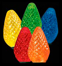 C7 25 LED Light Set Multi