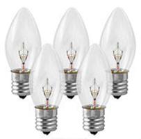 C9 Bulbs Clear