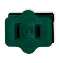 UL Female Connector Plug (Green)