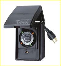 15 AMP Outdoor Weatherproof Timer