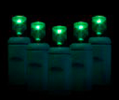 UL70 Wide Angle Lights Green