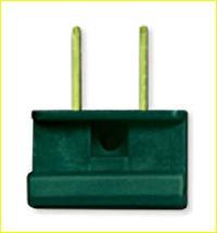UL Male Slide Plug (Green)
