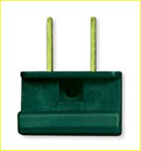 UL Male Slide Plug (Green)