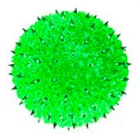 "50 Light 6"" Minisphere Green"