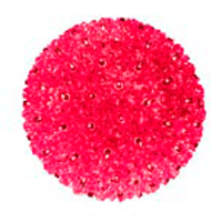 "50 Light 6"" Minisphere Red"