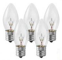 C7 Bulbs Clear